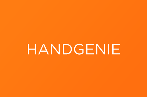 Handgenie nom name creation design agence agency crée graphisme
