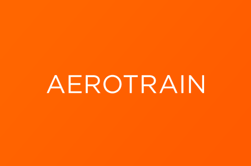 Aerotrain nom name creation design agence agency crée graphisme