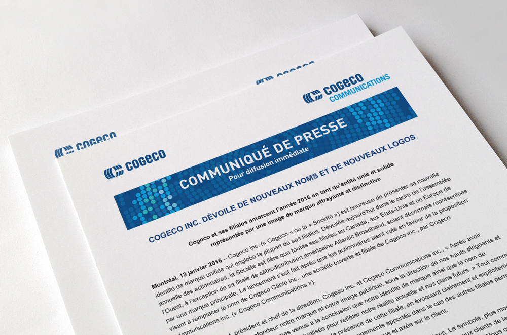 Cogeco https://www.cogeco.ca/en/home graphic design digital communication branding strategy stratégie d'image de marque branding strategy stratégie graphique visual design strategy business card design design creation agence agency financial communication communication financière corporate communication communication corporative
