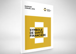 Chambre de sécurité financière communication corporative, rapport annuel, design de rapport annuel, stratégique de communication corporative, annual report design, corporate communication,